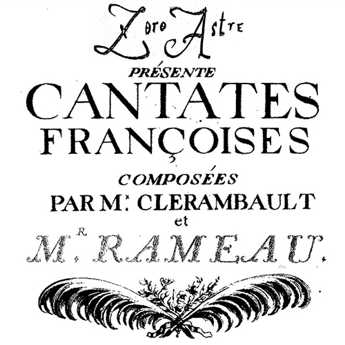 Ensemble Zoroastre's Concert Poster - French Cantatas